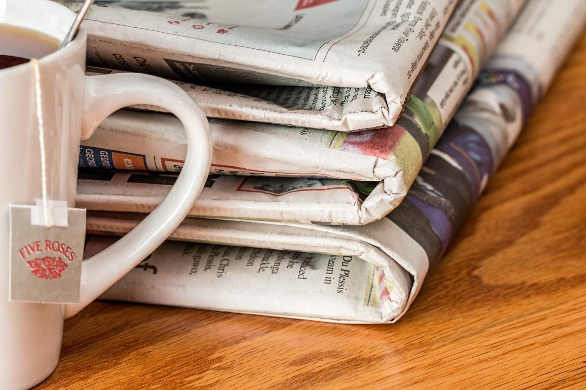 Mazzetta di giornali
