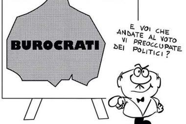 Una vignetta contro la burocrazia