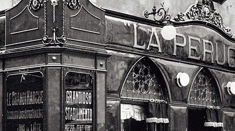 Il primo negozio della Perugina