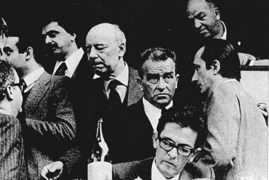 Berlinguer e Ingrao al XIII congresso del Pci nel 1972