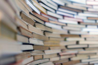 Libri accatastati
