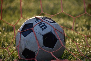 Un pallone in rete