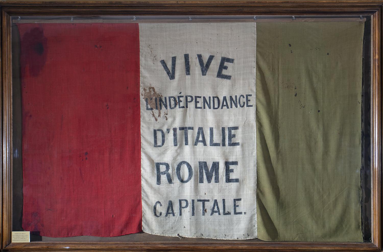 bandiera della repubblica romana