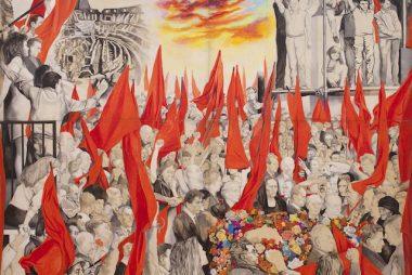 Il quadro di Renato Guttuso