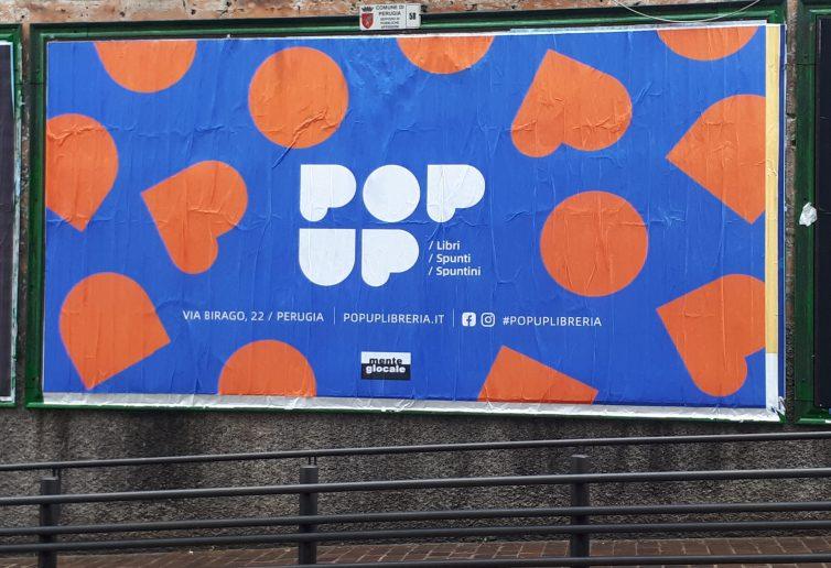 Il manifesto che annuncia la nascita di Popup