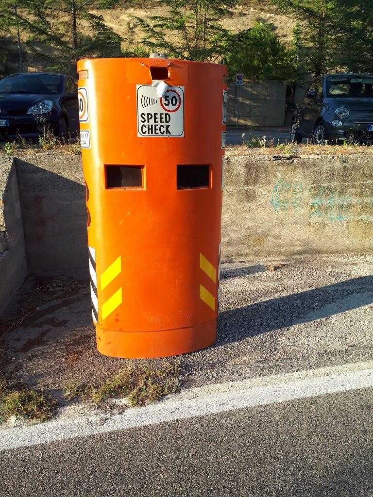 colonnina speed check a Perugia