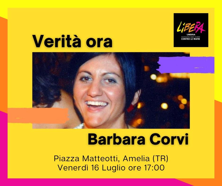 Manifesto di Barbara Corvi