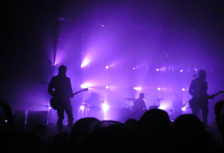 Un concerto dal vivo