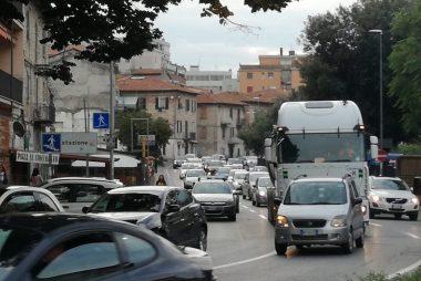 traffico a Fontivegge